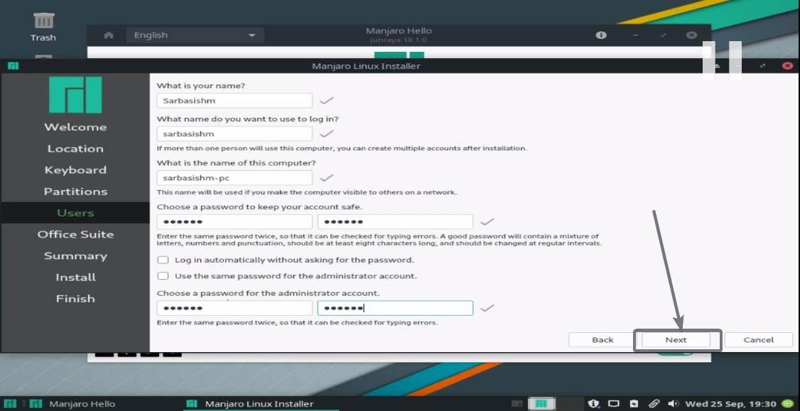 Install Manjaro Linux 10