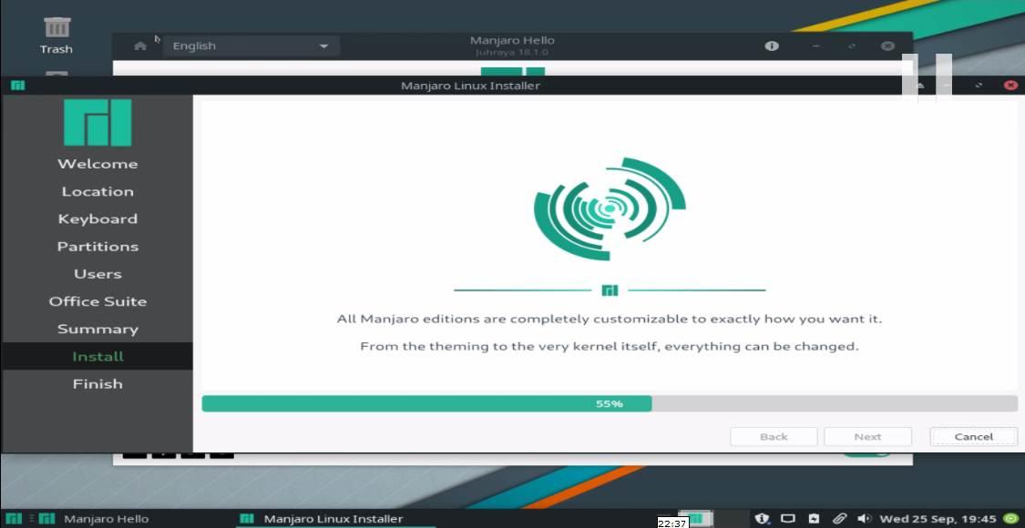 Install Manjaro Linux 13
