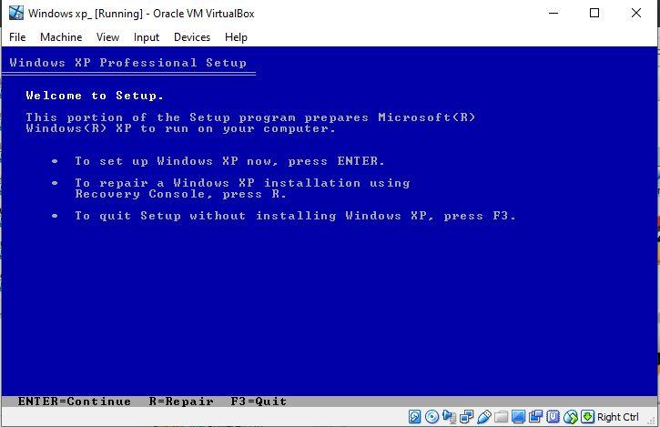 Installating-WIndows-XP