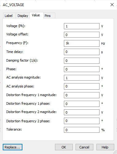 Multisim AC Voltage 13