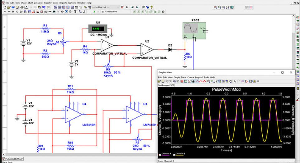 Multisim circuit simulator software
