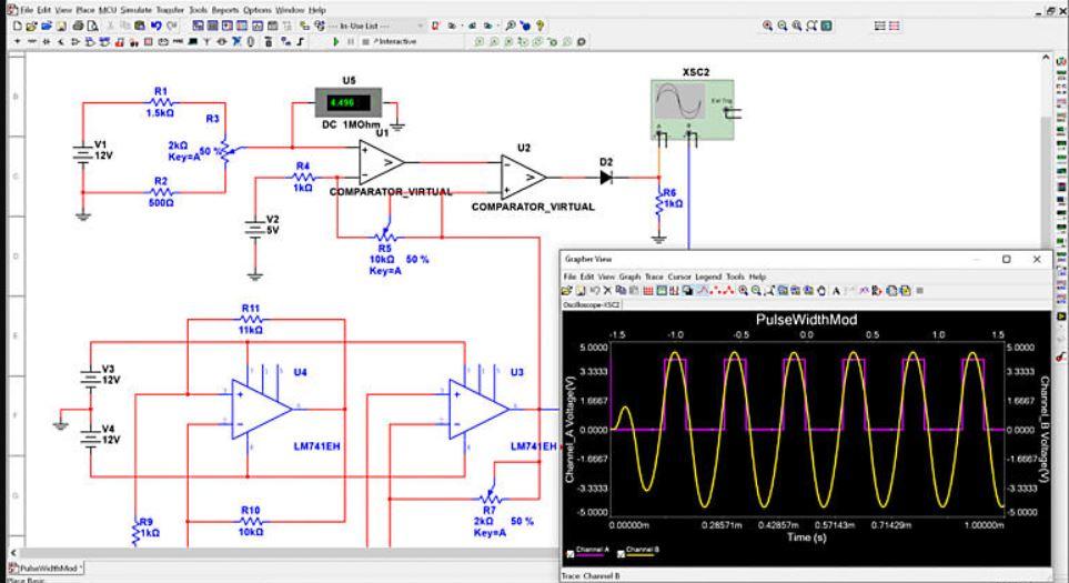 Multisim circuit simulator software