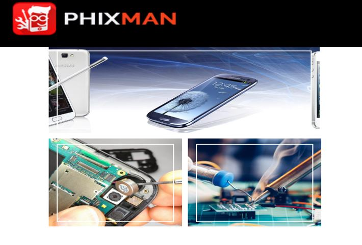 Phixman, now sell, repair and service smartphones at your doorstep