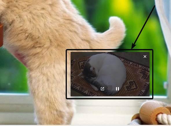 Play local videos in PIP mode Google Chrome 4