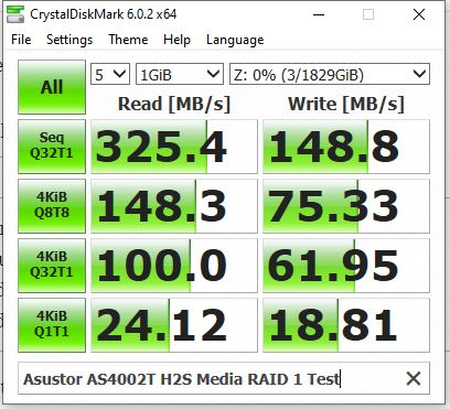 RAID-1-speed-test