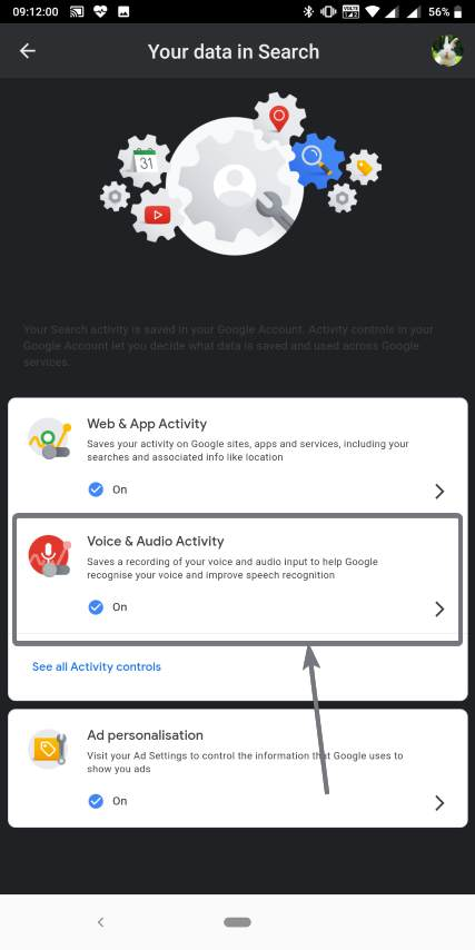 Find Voice & Audio Activity