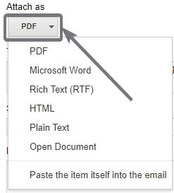 Send email directly from Google Docs 2