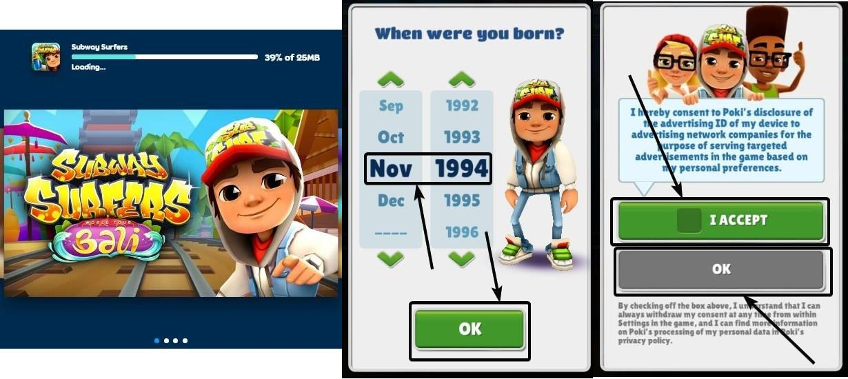 Subway Surfers web on PC 3