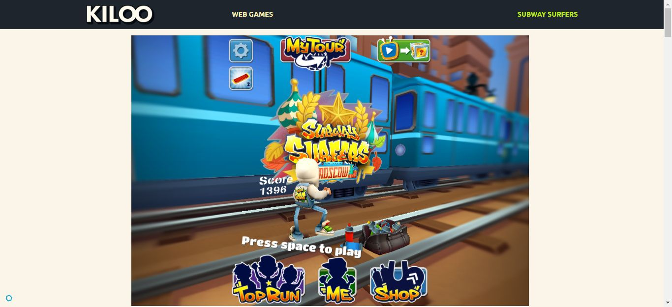 Subway Surfers PC version