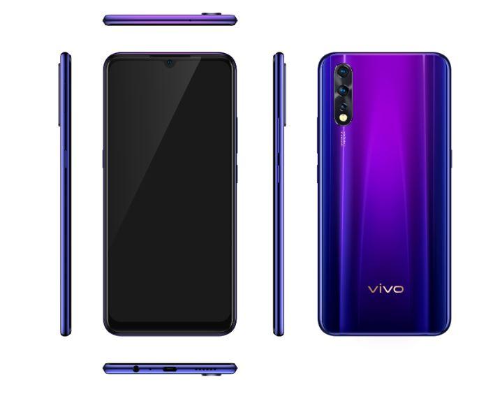Vivo Z1x smartphone image