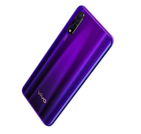 Vivo Z1x smartphone purple image