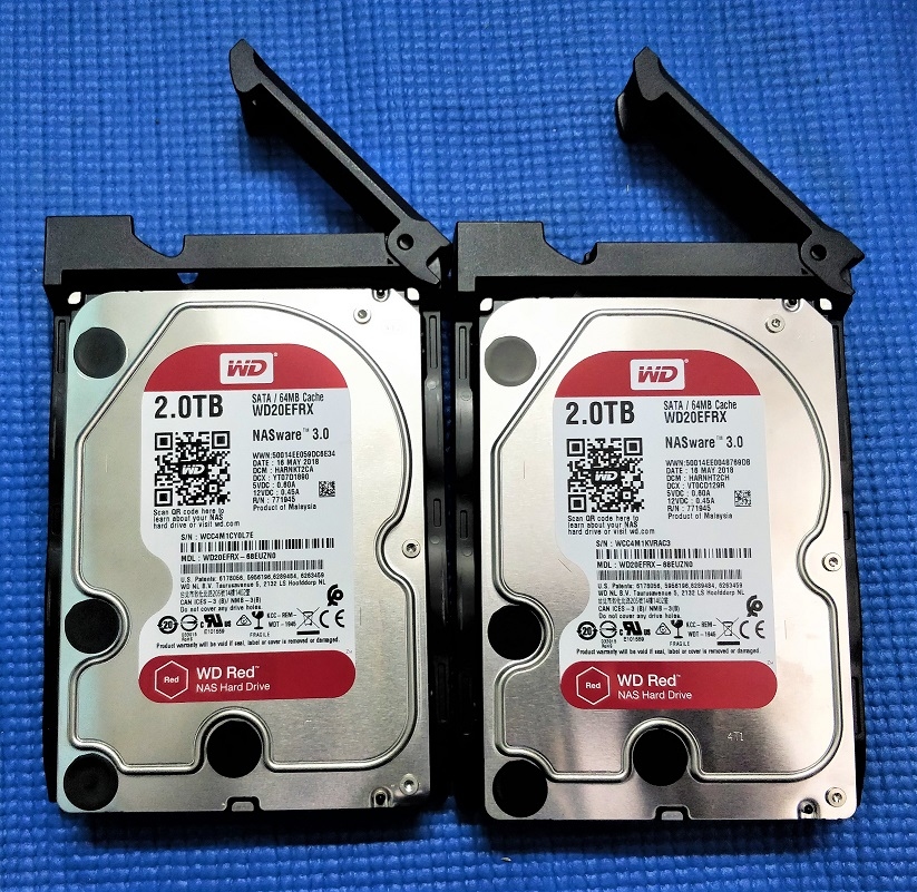 WD-NAS-drive-in-the-Asustor-A4002T