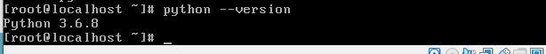 python command to check python version