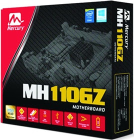 Kobian Launches Mercury H110GZ Motherboard