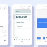 A new look for the Google Docs, Sheets, and Slides Android apps