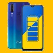 BEst batery backup phone Vivo Y12 2019