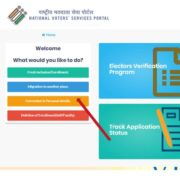 Correct voter card personal details india