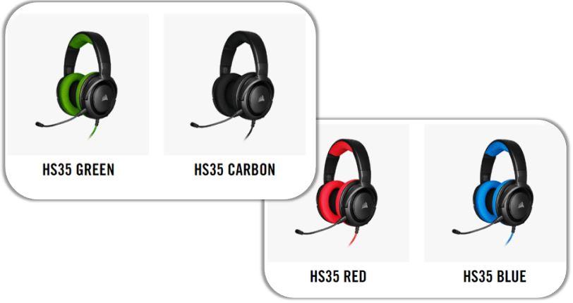 Corsair-HS35-headphones-available-colours