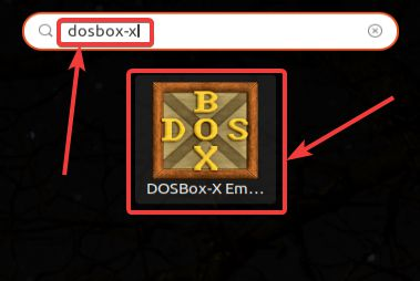 Run DOSBox from the Applications