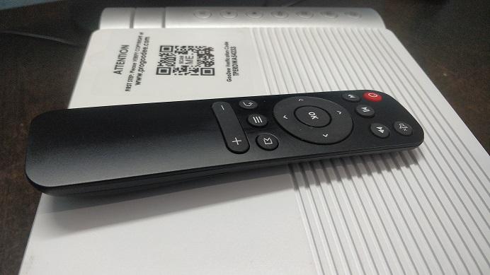 GeeDee G500 projector remote