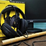 HS35 headset of Corsair review