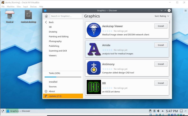 Install KDE Plasma 5.17 on Ubuntu