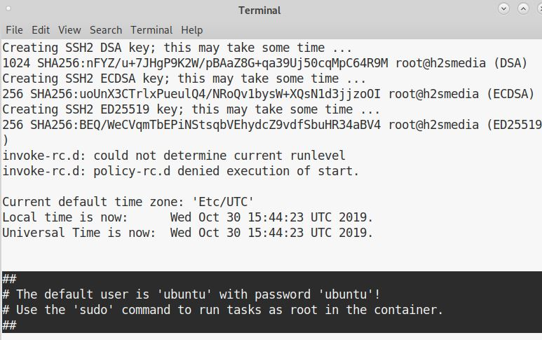 Install Ubuntu LXC Linux containers
