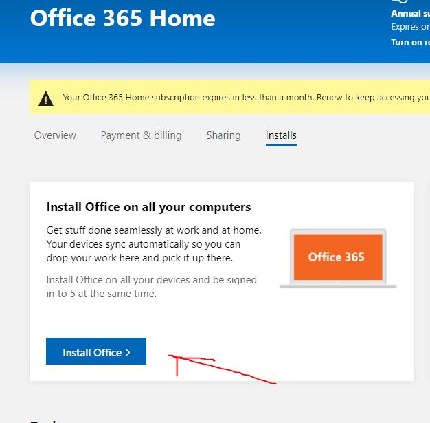 Install office 365 on your computer offline