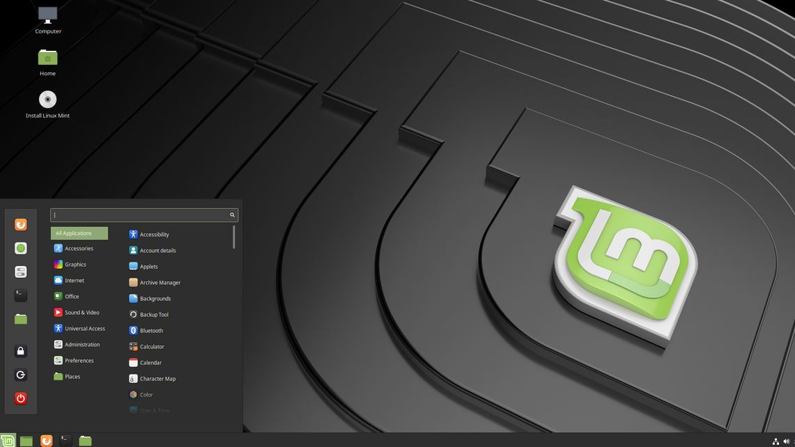 Linux Mint most popular Linux OS