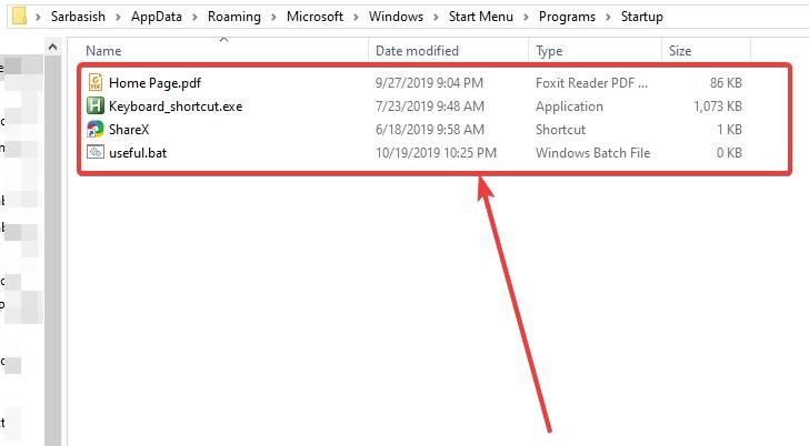 Manually add programs to start up on Windows 2