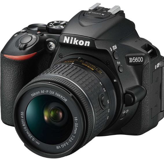 Nikon D5600 DSLR best budget camera