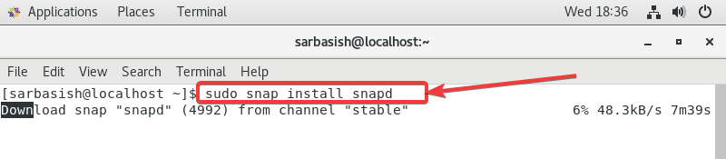 Snapd on CentOS 5