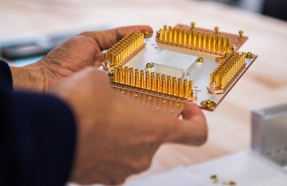 Google quantum computer Sycamore-processor