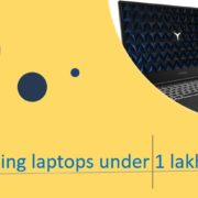 Top laptops for gaming in India under 1 lakh ruppess