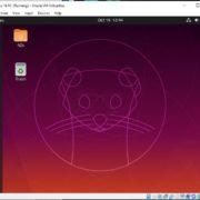 Ubuntu 19.10 installed succesfully
