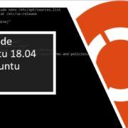 Upgrade Ubuntu 18.04 LTS to 19.10 Non-LTS