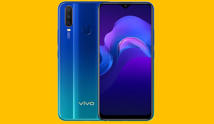 Vivo Y12 5000mAh battery smartphone
