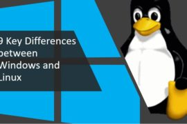 difference between windows and linux
