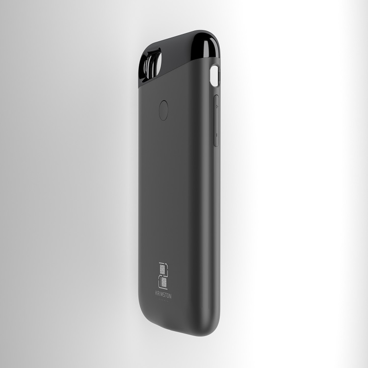 iphone7 grey half side