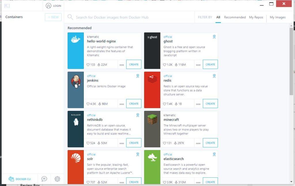 kitematic-Docker-GUI-tool