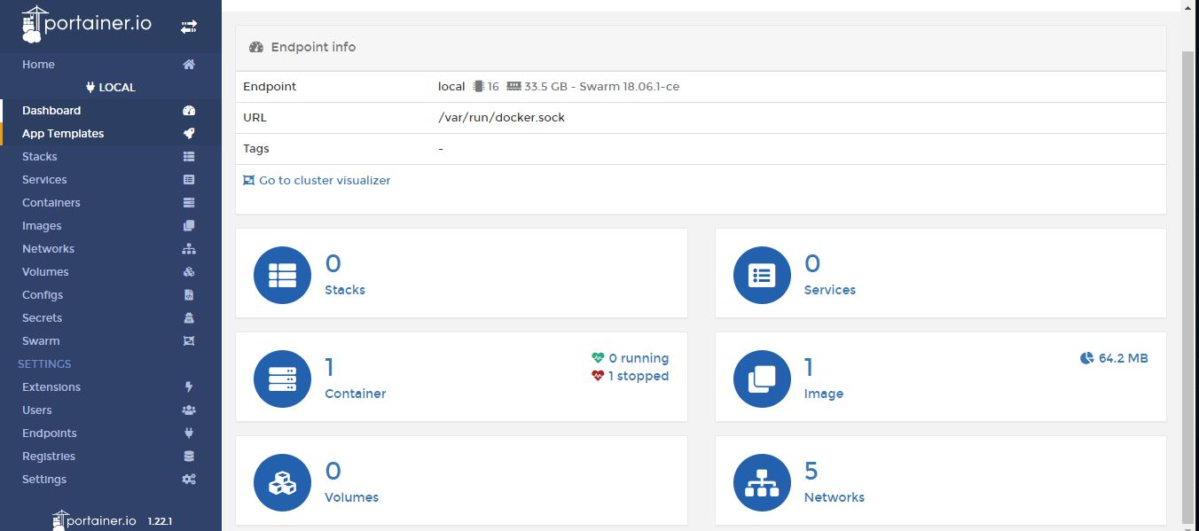 portainer best Docker GUI for managing containers