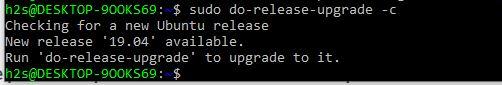 upgrade ubuntu 18.04 to 19.10