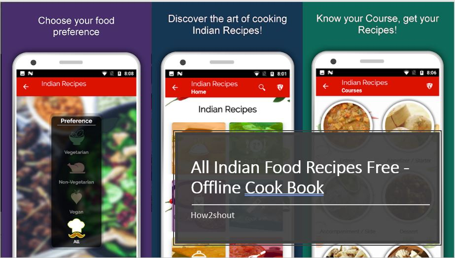 All Indian Food Recipes Free – Offline Cook Book