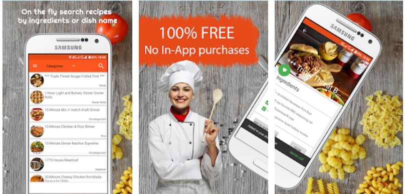 All Recipes Free – Food Recipes App