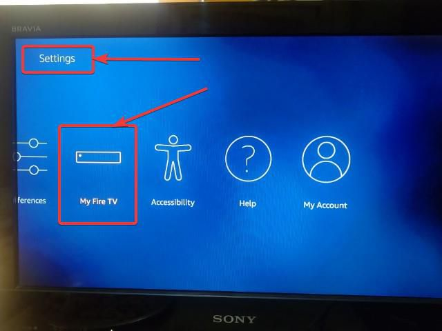 enable downloading from unknown sources Apps on Amazon Fire TV 10 (Small)