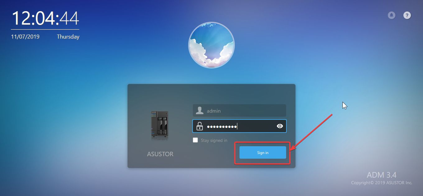 Asustor NAS access from outside 10