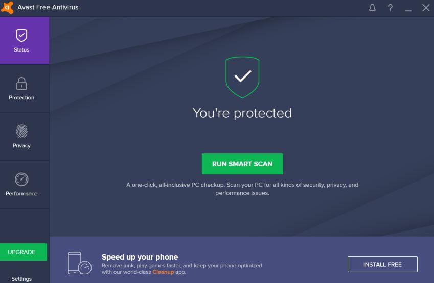 Avast Free Antivirus 2019 free 2020