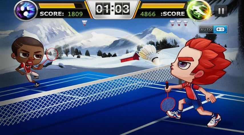 Badminton Legend sports game for smartphones