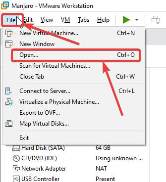 Convert virtual machine from one to another 160