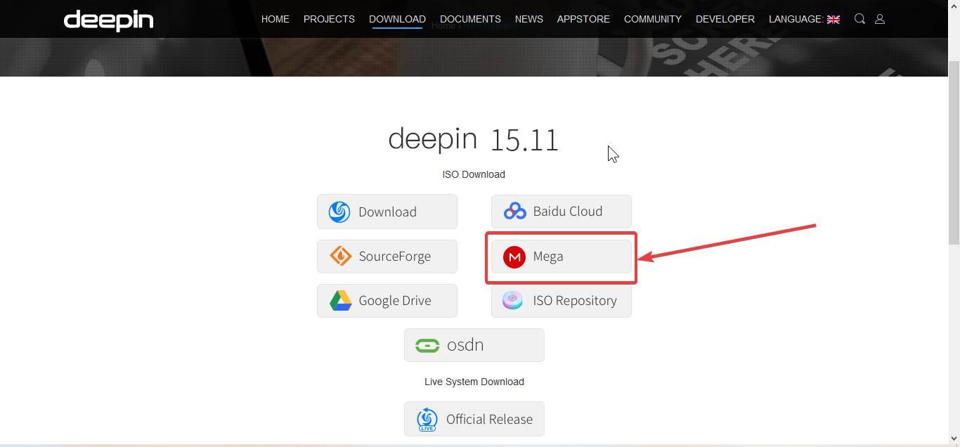 Download Deepin Linux ISO
